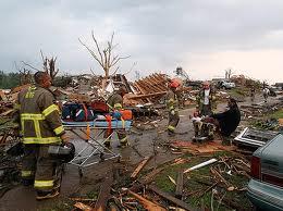 Tornado rescuers