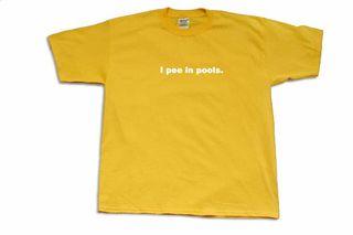 Pee in pools