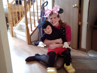 Mom and Mickey