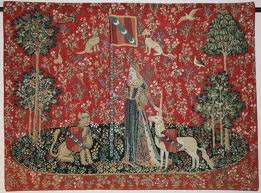 Red tapestry