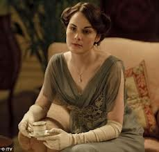 Downton evening dress
