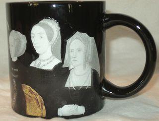 Henry's wives mug