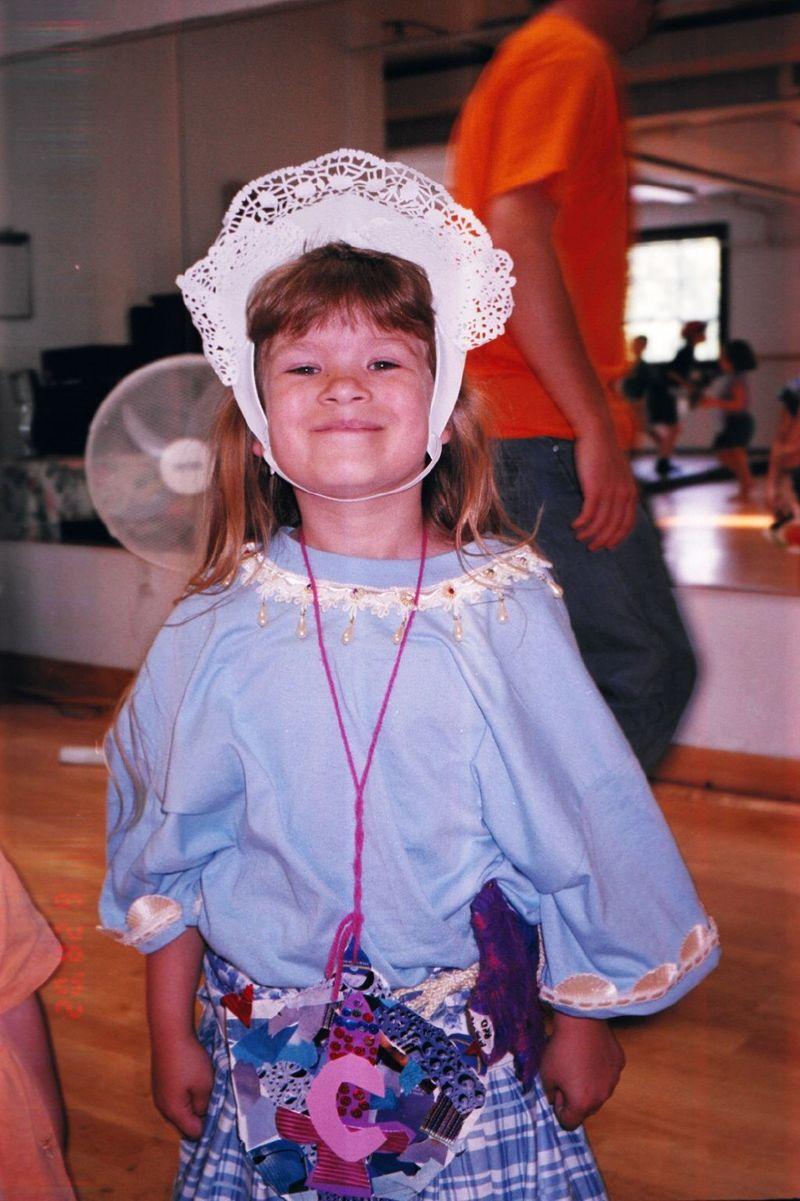 Maggie as Juliet : Kidstock
