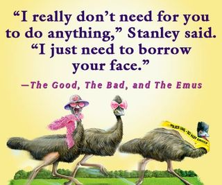 Good, Bad, Emus Quote Square 1