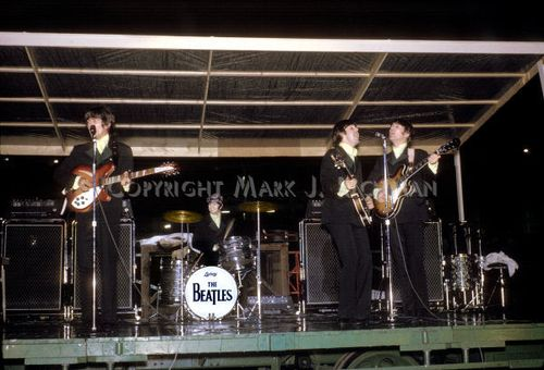 Beatles in Busch stadium