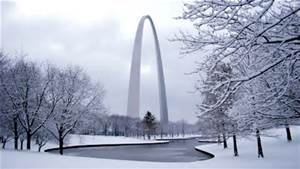 St Louis in winter