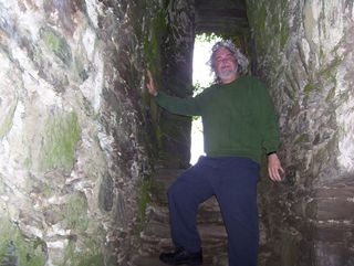 Me in Cahirciveen castle