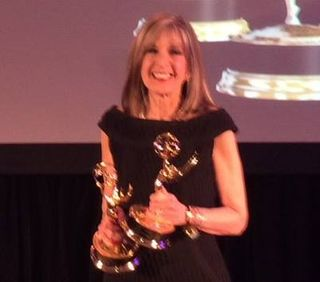 Hank and 2 emmys