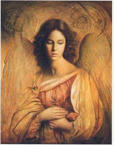 Hispanic angel