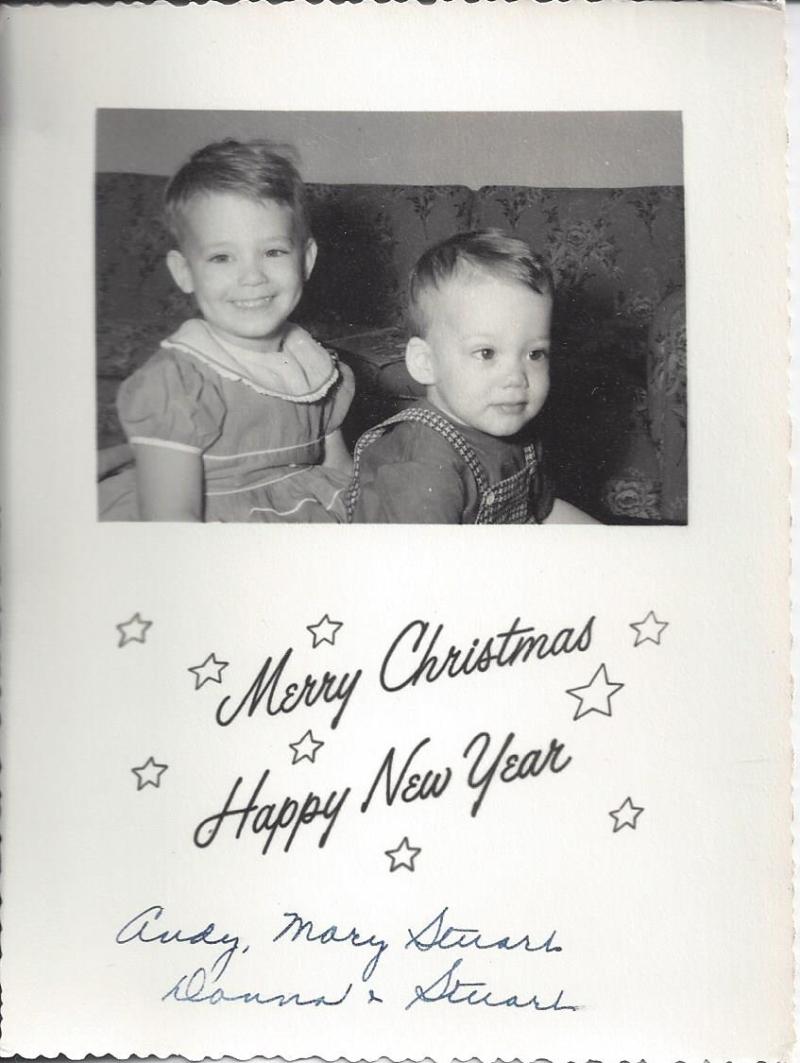 Andrews christmas 1955