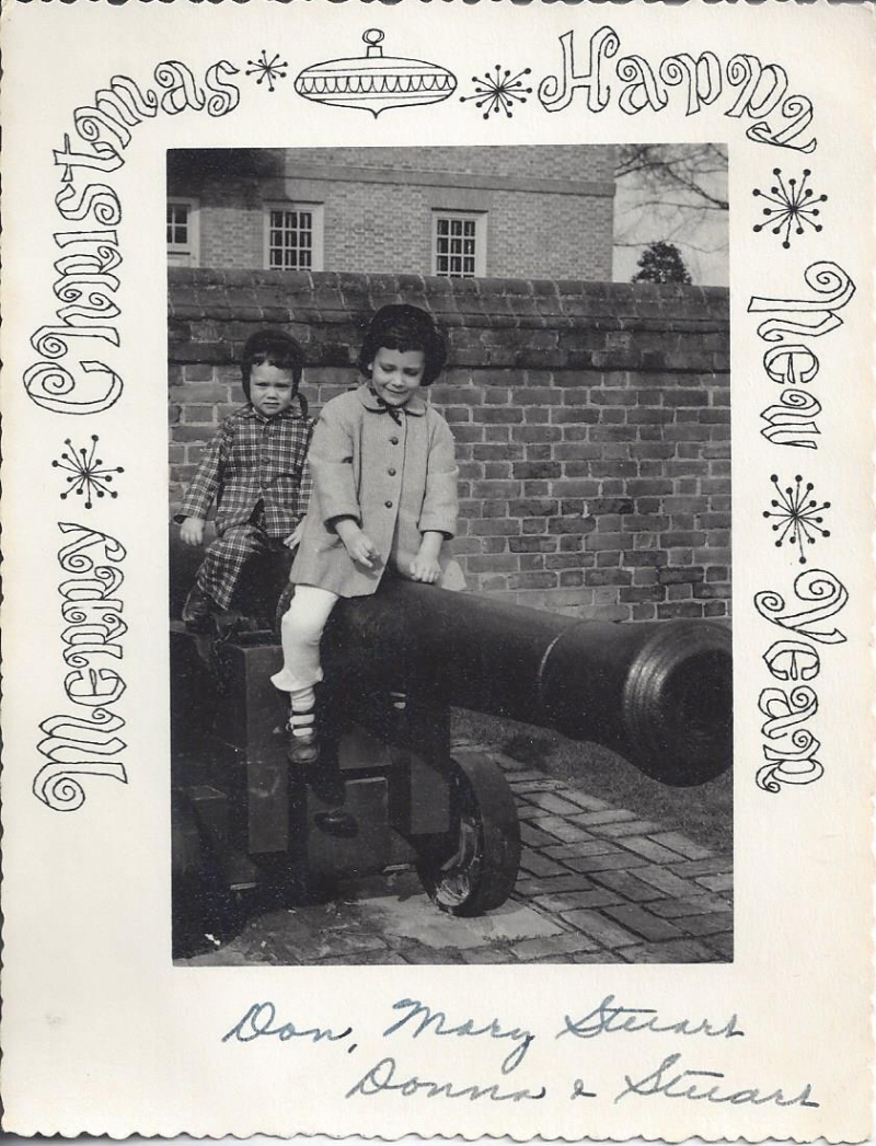 Andrews christmas 1957