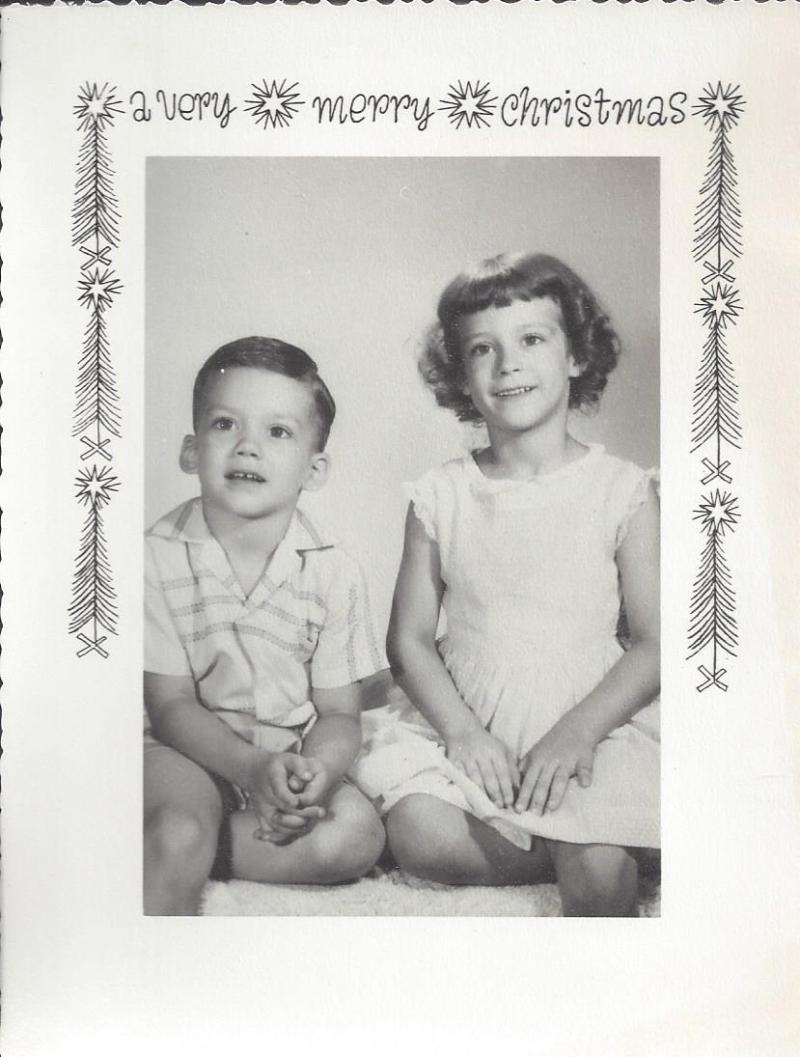 Andrews christmas 1958