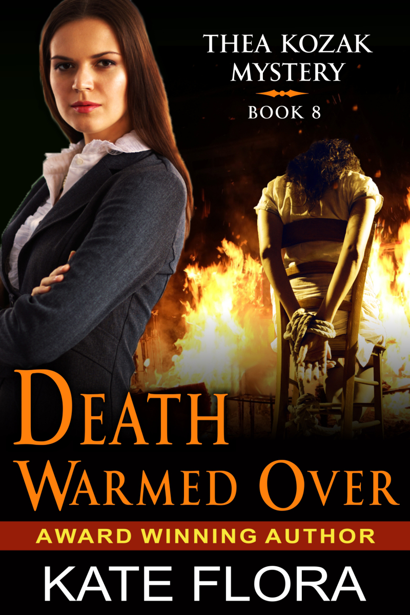 Flora  Kate - Thea Kozak Series Covers - Book 9 - Death Warmed Over - FI.._