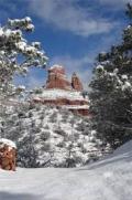 Snow-sedona