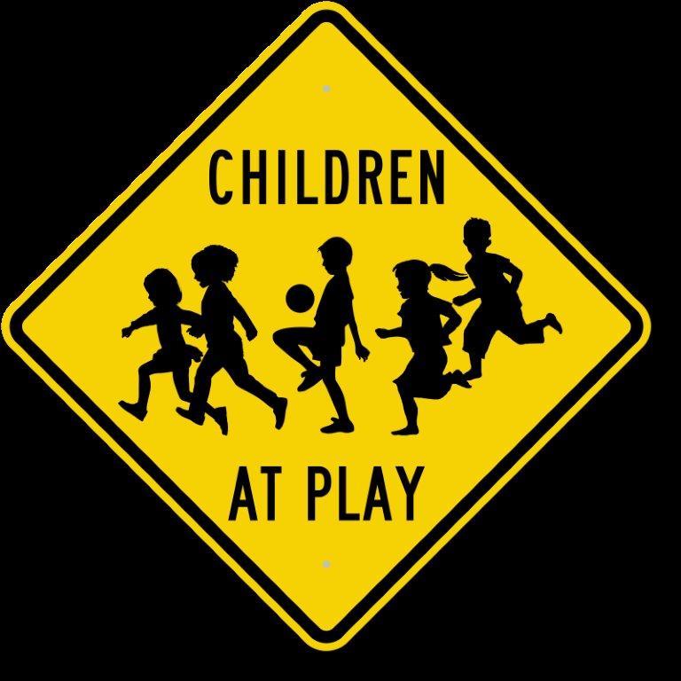 Kids-at-play-sign-k-0268