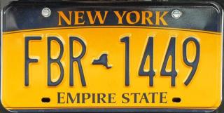New York plates