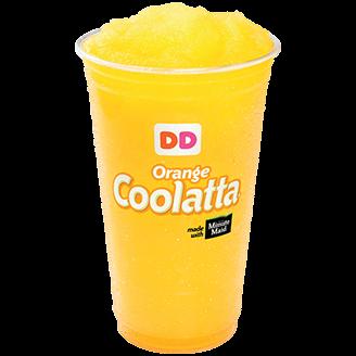 Orange coolata