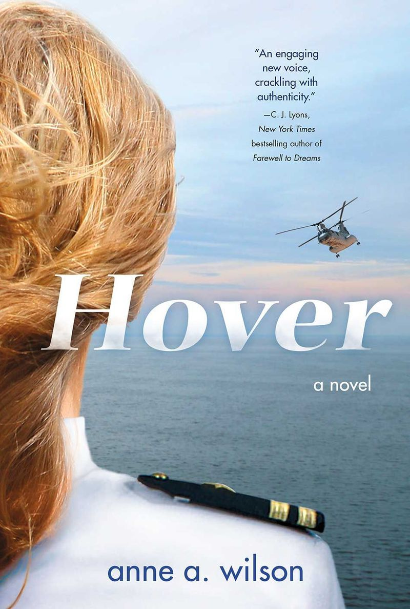 Anne A. Wilson HOVER cover for hardback