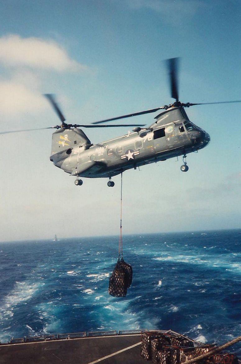 H46 VERTREP USS Sacramento