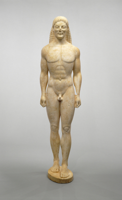 Larger kouros