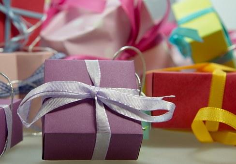 Shopping presents