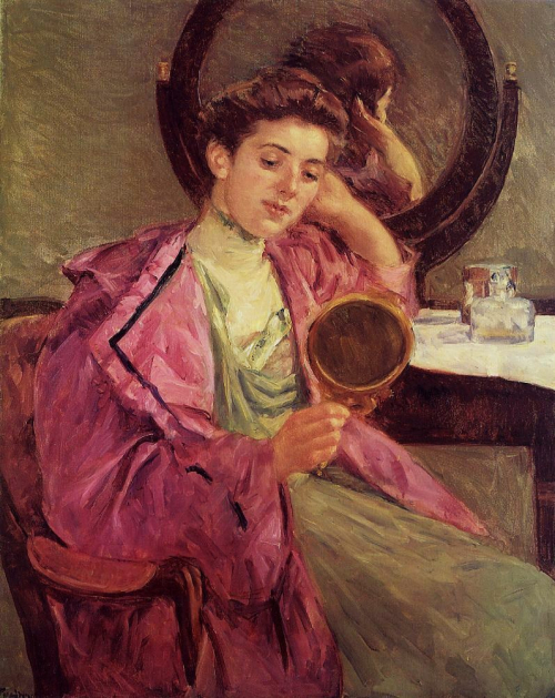 Mary cassatt and mirror