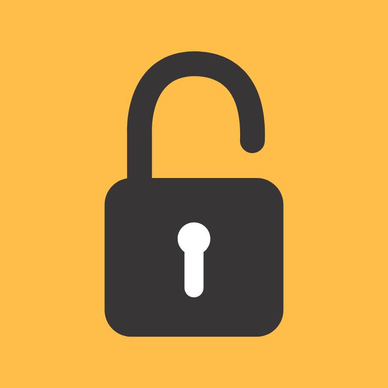 Unlock a secret