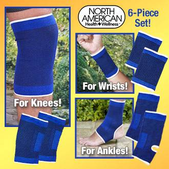Support wrap for wrist  knees and ankles