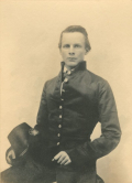 John_Pelham_in_West_Point_uniform_with_hat