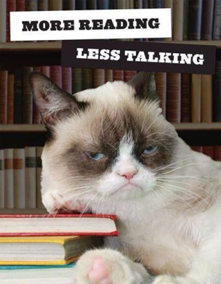 Reading grumpycat