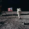 Buzz_salutes_the_U.S._Flag