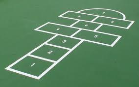Hopscotch course